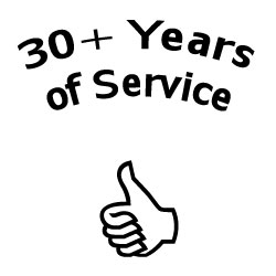 30 Plus Years of Service